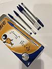 Ручка шариковая BIG синяя, фото 4