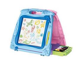 Детская пластиковая досточка ВОША 2 в 1 для рисования
