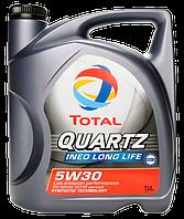 Моторное масло Total Quartz Ineo Long Life 5W30, канистра 5л