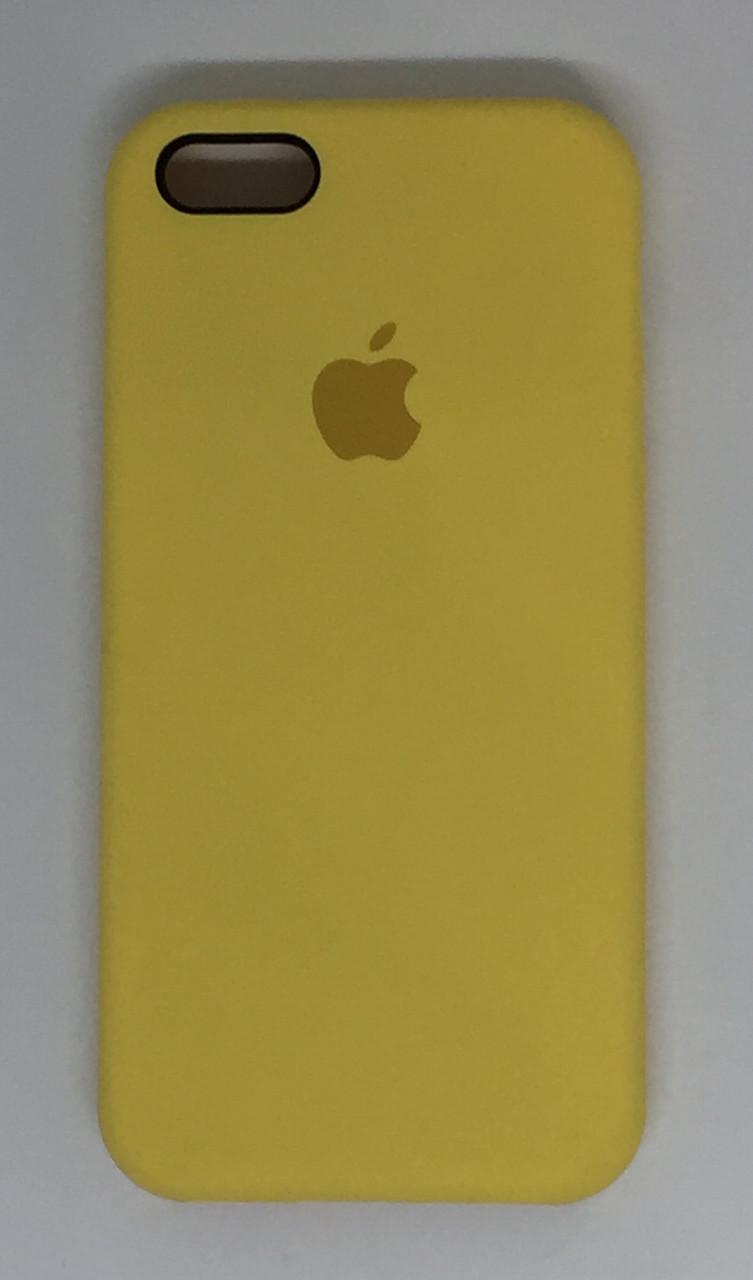 """Чехол Silicon iPhone SE/5s/5 - """"Холодный лимонад №4"""""""