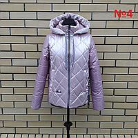 Легкая женская куртка с капюшоном весна