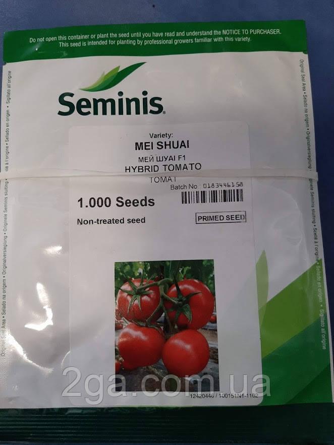Мей Шуай F1 / Mei Shuai F1 - індетермінантний Томат, Seminis. 500 насінин