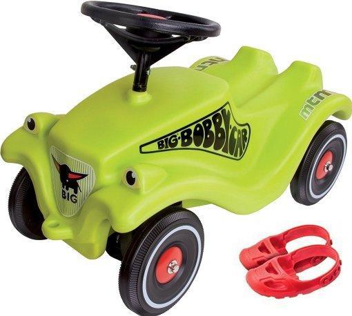 Детская машинка каталка толокар Гонщик детская для малышей BIG с защитой для обуви 56074