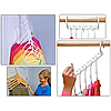 Универсальная Складная чудо вешалка для экономии места Wonder Hanger MAX С Набор из 8 шт., фото 2