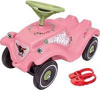 Машинка каталка толокар Цветок детская для девочек BIG с защитными насадками для обуви 0056110