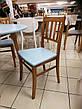 Круглый стол и 4 стула Сицилия диаметр 90 см.+30 см. вставка, фото 5