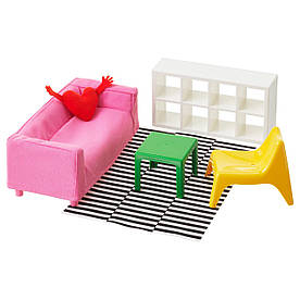 IKEA Лялькова меблі HUSET ( 502.355.10)