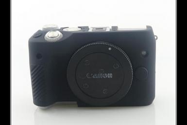 Захисний силіконовий чохол для фотоапаратів Canon EOS M6 - чорний