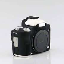 Захисний силіконовий чохол для фотоапаратів CANON EOS M50 - чорний, фото 2
