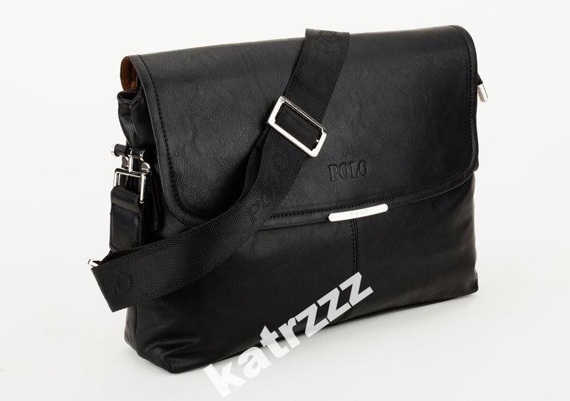 d5e59cbd5ee8 Мужская сумка-портфель POLO А4 (черная) : продажа, цена в Киеве ...