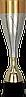 Кубок  3146, золотисто'-серый