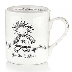 Керамическая чашка для чая, кофе Ты звезда, 400 мл., белая