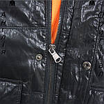 Куртка пуховик из PU кожи мужская Lee Cooper из Англии - демисезонная, фото 6