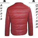 Куртка пуховик из PU кожи мужская Lee Cooper из Англии - демисезонная, фото 2