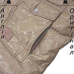 Куртка пуховик из PU кожи мужская Lee Cooper из Англии - демисезонная, фото 3