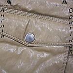 Куртка пуховик из PU кожи мужская Lee Cooper из Англии - демисезонная, фото 4