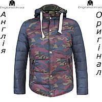 Куртка пуховик камуфляжная мужская Lee Cooper из Англии - зима/демисезон
