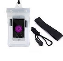 Водонепроникний чохол для телефону TravelSky. Прозорий чохол, захист від води