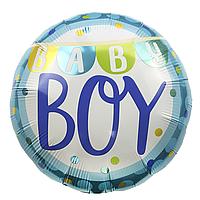 Фольгированный шар 18' Китай Baby boy, 45 см