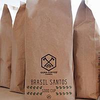 Кава в зернах (арабіка) Brazil Santos 1 кг