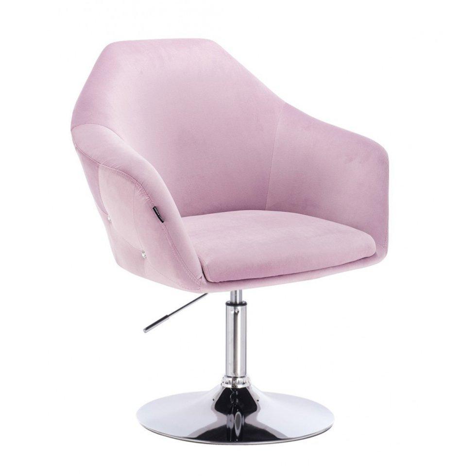 Парикмахерское кресло Hrove Form HR547 вереск велюр
