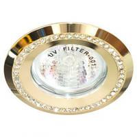 Светильник точечный Feron DL 103-c прозрачный золото MR16