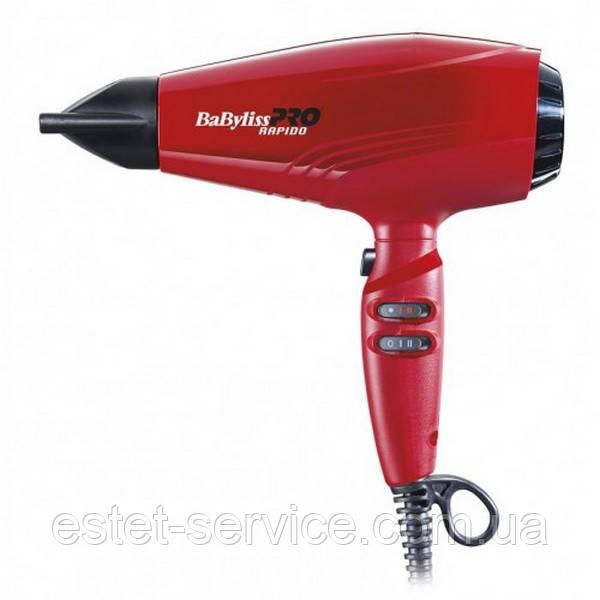 Профессиональный фен BABYLISSPRO RAPIDO RED BAB7000IRE