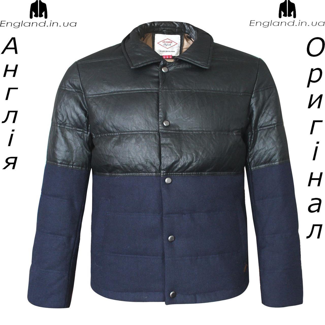 Куртка пуховик чоловічий Lee Cooper з Англії - зима/демісезон