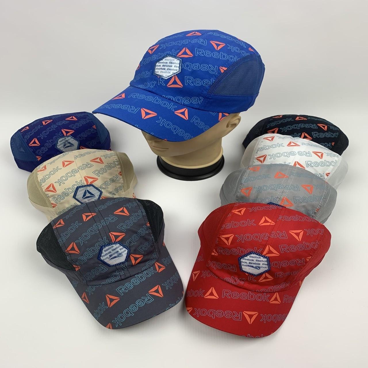 Детские бейсболки Reebok с сеткой для мальчиков оптом, р.54 (ktс1120)
