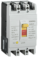 Автоматический выключатель ВА66-313Р80А18кАGENERICA (SAV10-3-0080-G)