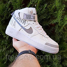 Чоловічі кросівки в стилі Nike Air Force Mid 1' 07