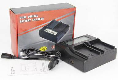 Профессиональное зарядное устройство J-DC-LCD для CANON 750D, 760D, EOS M3 - (аккумулятор LP-E17)