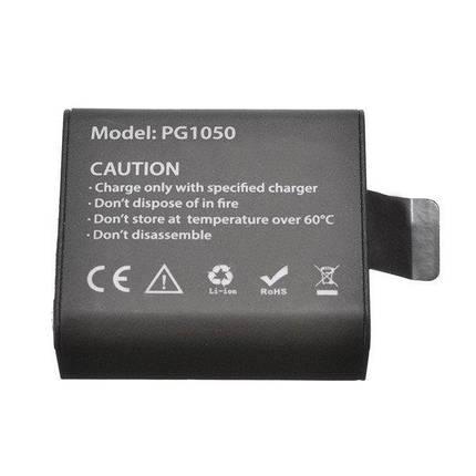 Акумулятор PG1050 - аналог (SJCAM SJ4000B) для камер EKEN H8, H8R, H8 Pro, H9, H9R, V8S, SJ6000, SJ7000 і тд, фото 2