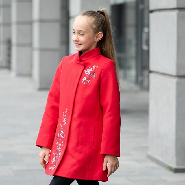 Кашемировые пальто для девочки