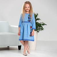 Вишита сукня MEREZHKA для дівчинки Мальва розмір 152 по росту