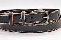 Женский кожаный ремень 30 мм чёрный