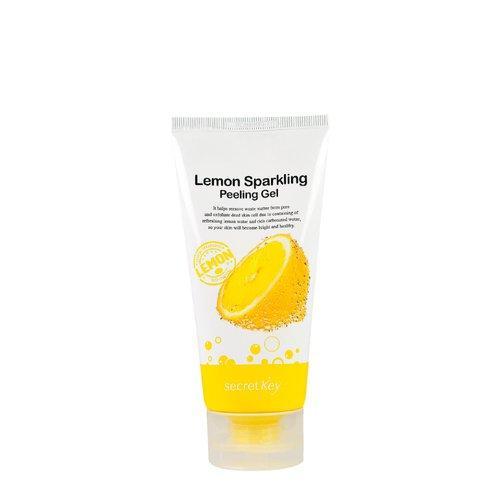 Пилинг-гель с экстрактом лимона - Lemon sparkling peeling gel Secret Key 120 мл (999796)
