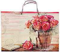 Подарочный пакет #714 (36 см) глянцевый