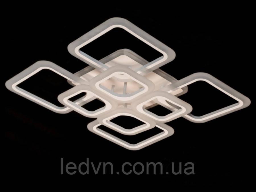 Стельова LED-люстра з діммером і кольоровою підсвіткою, 165W