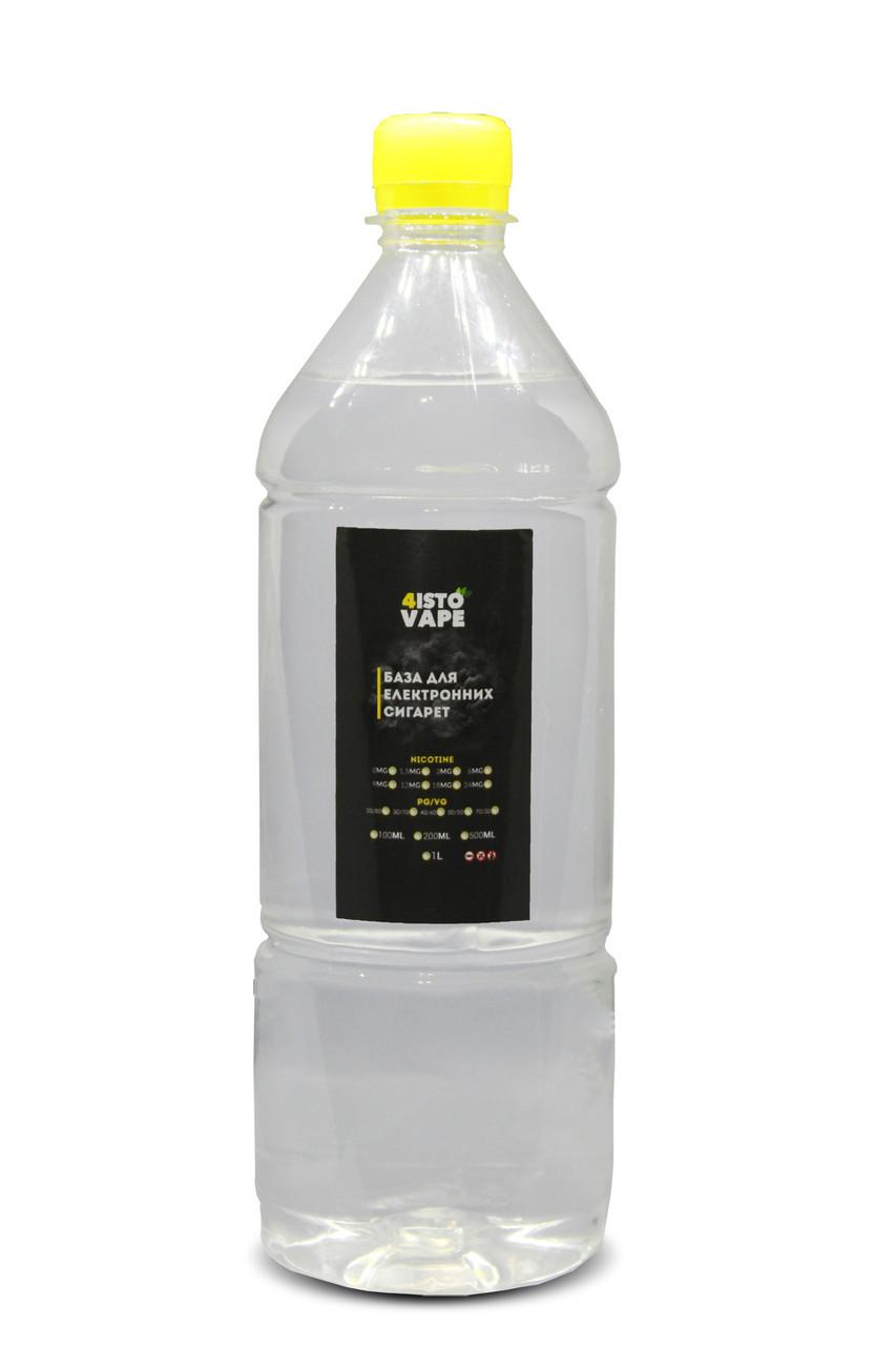 База для электронных сигарет 4ISTO VAPE 50/50 6 мг 1 л