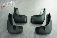 Брызговики Chevrolet Captiva FL с 2012 г.в. Комплект передние и задние Твердая резина Новые