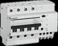 Дифференциальный автомат  АД14 4Р 32А 30мА GENERICA (MAD15-4-032-C-030 )