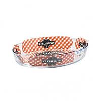 Форма для запекания стеклянная овальная Pyrex O Cuisine 346BC00 35*24см