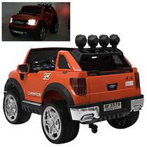 Детский электромобиль Bambi Джип оранжевый 3579, фото 3