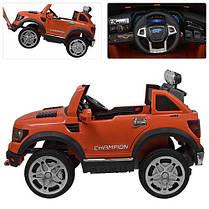 Детский электромобиль Bambi Джип оранжевый 3579, фото 2