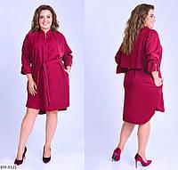 Сукня сорочка жіноча ошатне батал розміри 46-48 50-52 54-56 58-60 Новинка 2020 є багато кольорів