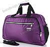 Дорожная сумка 6151 violet дорожные сумки, спортивные сумки оптом недорого Одесса 7 км