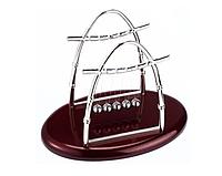 Настольный маятник Шары Ньютона (овал)  средний 22,5х17,5х13 Баланс