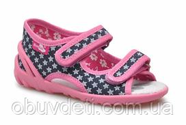 Тапочки -босоніжки дитячі для дівчинки Renbut 24 15,5 см