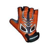 Велоперчатки детские Freerace Mike FC-1005 розмер 4 Orange SKL24-190086